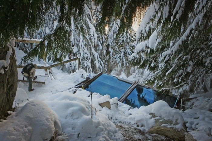 These Northwest hot springs are the best way to warm up this winter!
