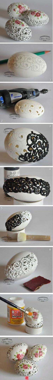 søde æg til påske