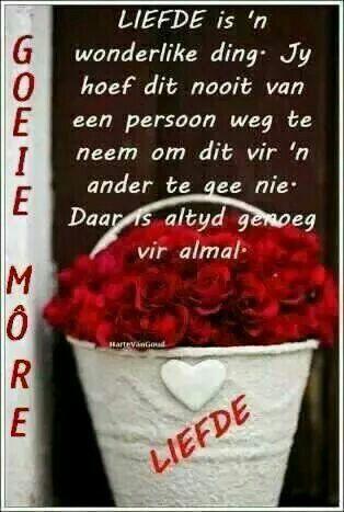 Liefde is n wonderlike ding.