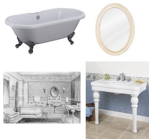 Edwardian Bathroom | Edwardian Bathroom Design   Authentic Period Design  For Your Bathroom