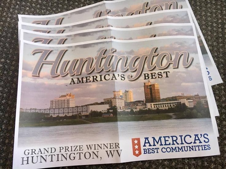 Huntington, West Virginia Was Just Named 'America's Best Community'