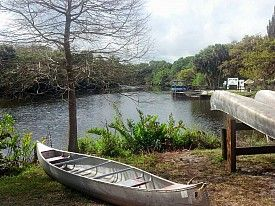 Canoe Rentals at Snook Haven