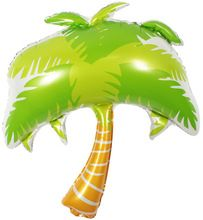 Party decoraties kokospalm folie ballon Bruiloft feestartikelen Beach boom Helium ballon Klassieke speelgoed maat 88*110 cm 1 stks(China (Mainland))
