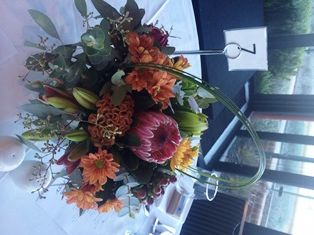 Table arrangements - Swan Brewery Perth
