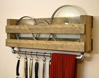 Best 25 Industrial Pot Racks Ideas On Pinterest  Pot Rack Adorable Kitchen Pot Rack Decorating Design