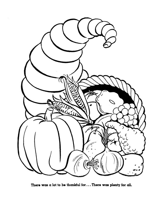 thanksgiving food coloring pages | 17 Best images about Templates/Coloring Pages on Pinterest ...