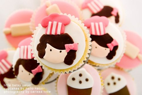 Little Betsy Baker Cupcakes! #cupcakes #cute #kawaii: Girly Cakes Cupcakes, Baker Cupcakes, Google Search, Yummy Cupcakes, Cupcake Ideas, Baby Girl, Girl Cupcakes