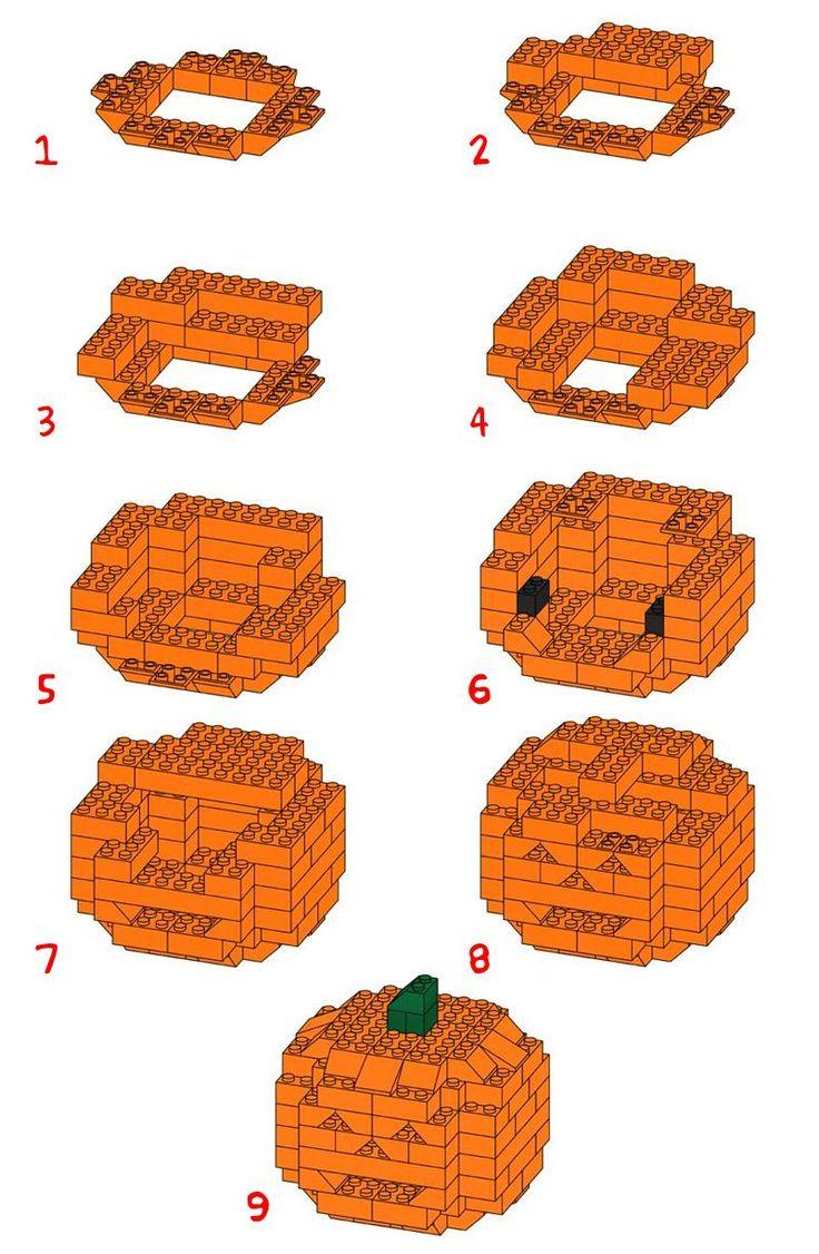 halloween legos | La zucca di Halloween della LEGO