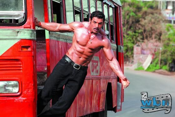 Shootout at Wadala triumphed at the domestic box office with an incredible opening weekend revenue collections - highest non-holiday opener of the year so far: http://www.washingtonbanglaradio.com/content/54725913-shootout-wadala-storms-box-office-highest-non-holiday-opener-year  Indian Bollywood Film Actor John Abraham Wallpaper Poster