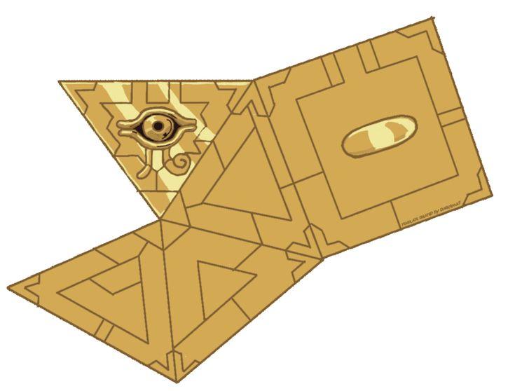 Yu-Gi-Oh Millennium Puzzle Papercraft By TibbyDarkewulf On