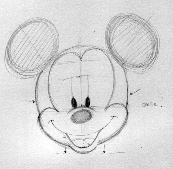 how to draw people as disney characters