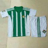 Real Betis 2015-2016 Season Kids Home Soccer Kit(Shorts+Shirt) [B356]