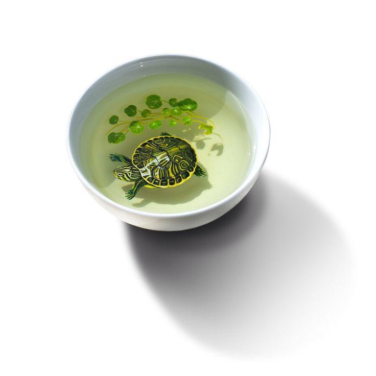 Best Japanese Art Images On Pinterest Japanese Art Goldfish - Incredible 3d goldfish drawings using resin