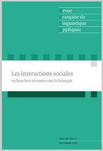 Revue française de linguistique appliquée (Cairn)