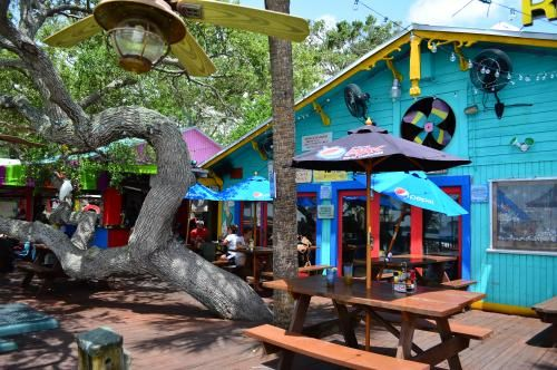 Hidden Treasure, in Ponce Inlet, Florida, is a local's favorite for seafood while enjoying the waterfront views.