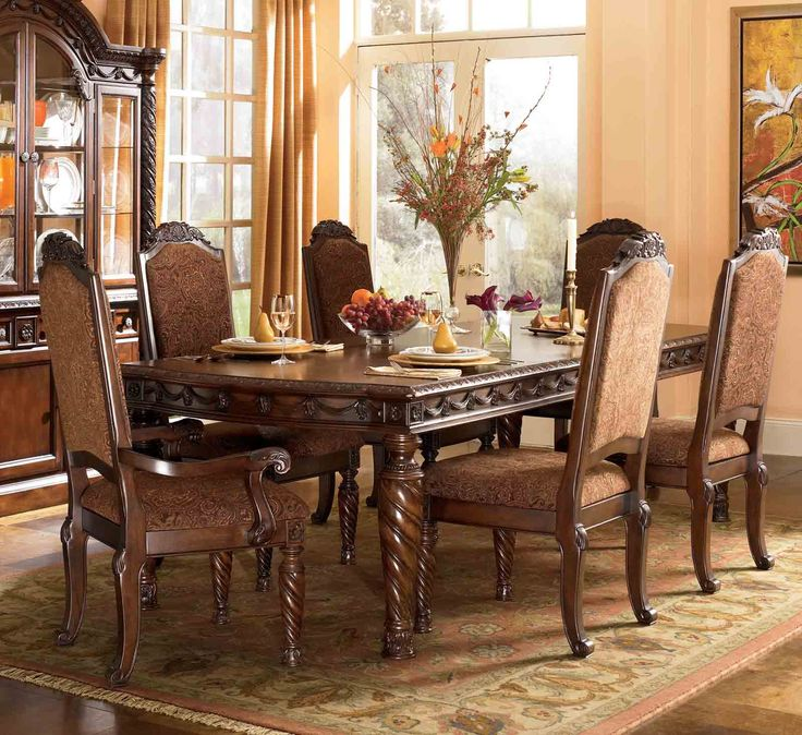 Artur Extending Dining Table In 2019: North Shore 7-pc Rectangular Leg Extension Table Set In