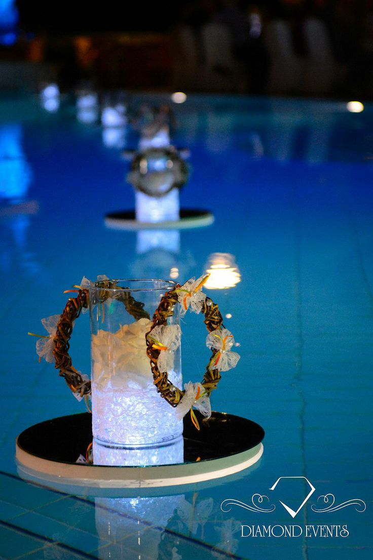 Swimming Pool Decorations For Weddings