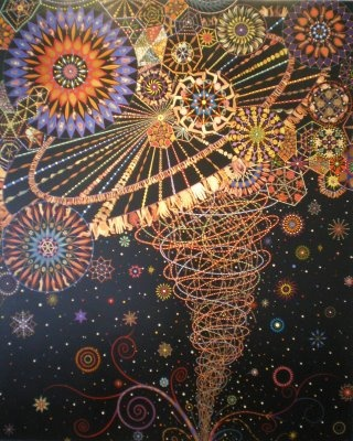 """""""Abductor"""" by Fred Tomaselli"""
