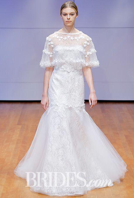 Chantilly lace wedding dress with T-top Rivini by Rita Vinieris Wedding Dress - Fall 2016 - Brides.com