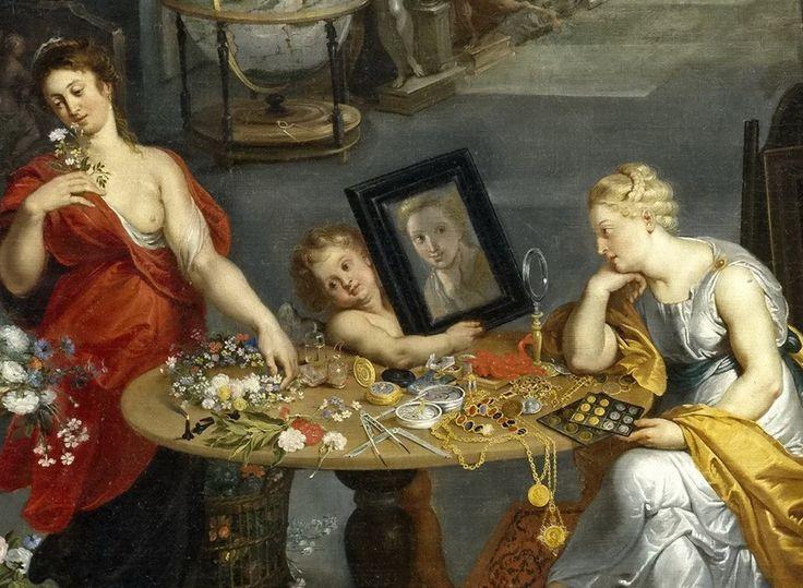Brueghel el Viejo, Jan -- La Vista y el Olfato