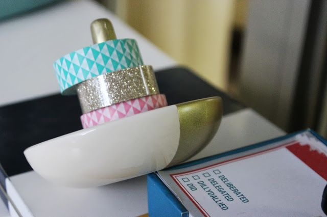 Color Blocking with Washi Tape