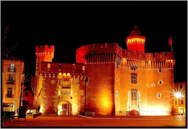 Le Castillet de Perpignan, Languedoc-Roussillon, France