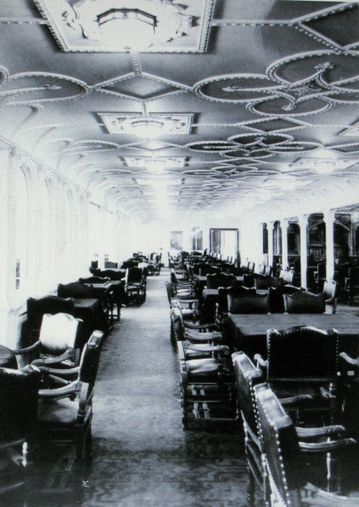 Titanic - The Jacobean Room - First class dining