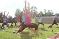 Yoga in The Park - #Caledon #Ladies #Hiking and Meet up Group