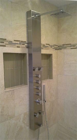 A Stunning Kohler Shower Panel Installed By