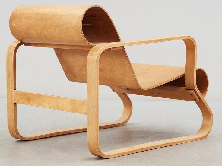 Alvar Aalto, Model No. 41 lounge chair, 1931-32.