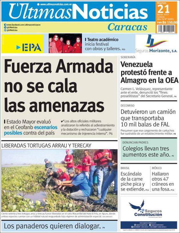 Estas son las portadas de los diarios nacionales y regionales de este martes