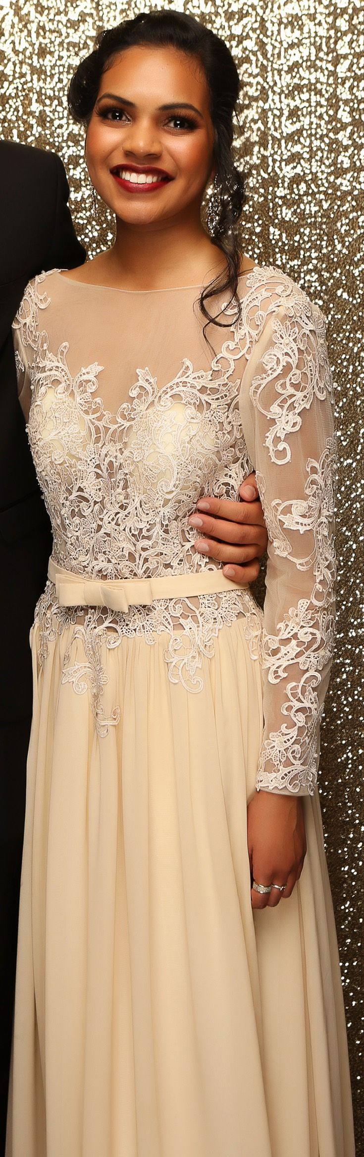 Henderson Ball 2015. How incredible is this gown?! www.whitedoor.co.nz