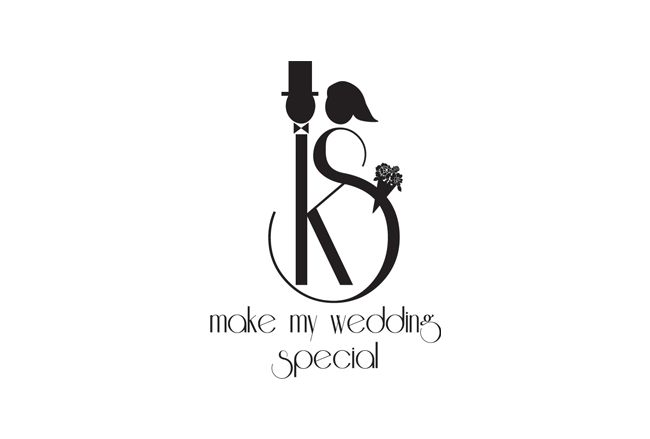 DM Wedding Monogram logo design - 48HoursLogo.com