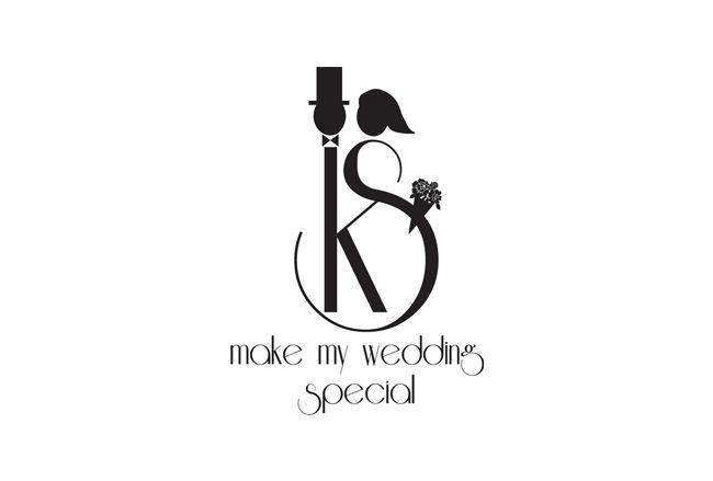 DM Wedding Monogram logo design - 48HoursLogo.com