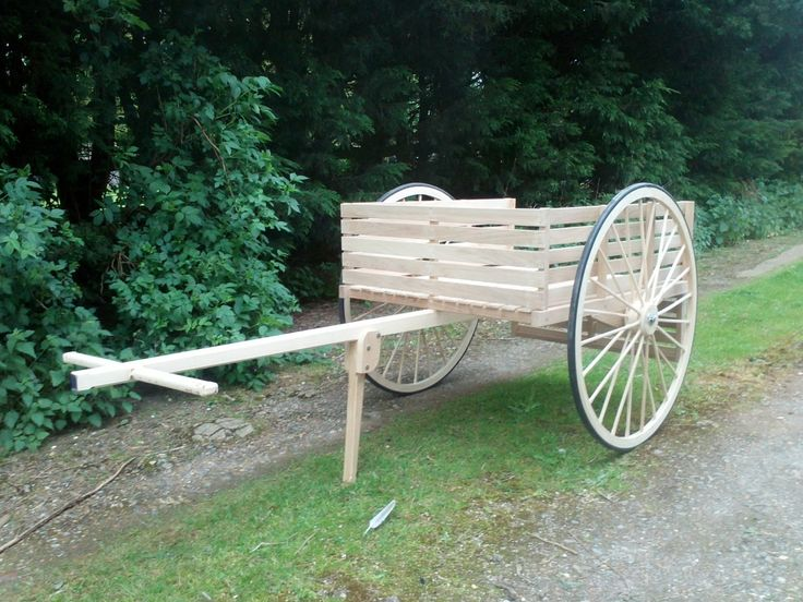 traditional hand cart by woodbyfudge on Etsy