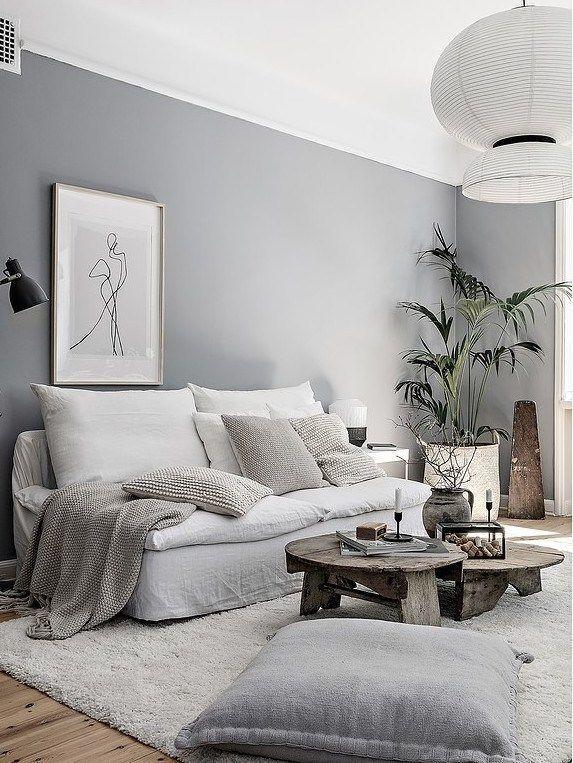 Un Appartement Zen Avec Vue Sur Un Parc Planete Deco A Homes World Zen Home Decor Zen Living Rooms Living Room Decor
