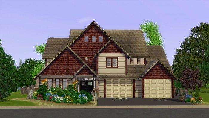 Washington Suburban house by stonee206 - Sims 3 Downloads CC Caboodle