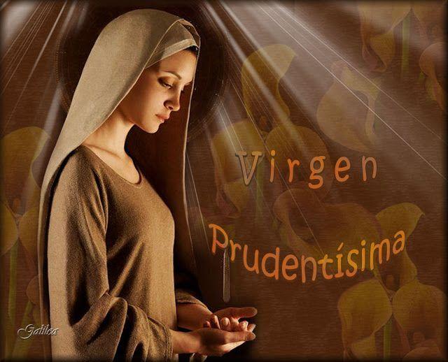 VIRGEN MARÍA, RUEGA POR NOSOTROS : MAYO,MES DE MARÍA - DÍA 14 - VIRGEN PRUDENTÍSIMA