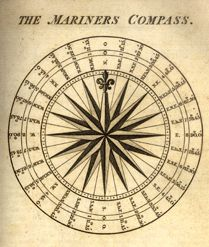 Mariners Compass image for Quilt Design