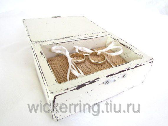 Белая шкатулка для ювелирных изделий, фото 5