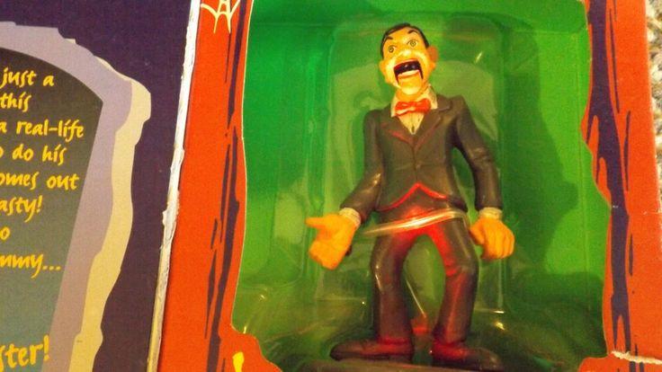Vintage Goosebumps Toy Hasbro - Slappy the Dummy figure Goosebumps Collectibles #Hasbro