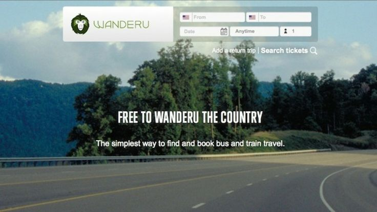 Wanderu finds bus and train tickets