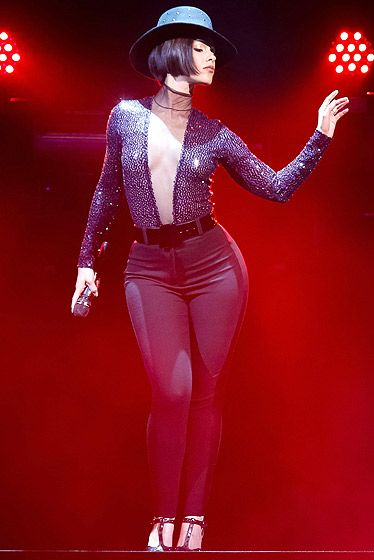 Alicia's Cabaret Look  one day ima be in front row of AK show. :) #DreamBig
