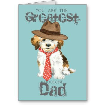 Show your love for Dad on Father's Day or any day with this original design of a cute little Havanese puppy wearing a fedora and tie with the words, Greatest doggone Dad. #love #dog #puppy #father #dad #cute #father's #day #havanese #havanese #cuban #bichon #havana #silk #dog #daddy #greatest #dad #tie #fedora #hat #bichon #havanais #bichon #habanero #havaneser #havanezer #toy #dog #bichon #havanês #cuban #white #dog