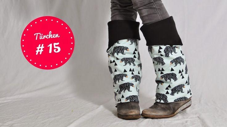 BEINstulpen • Nähanleitung + Schnittmuster kostenlos • leni pepunkt • free sewing pattern • freebie • cuff gainter legwarmer