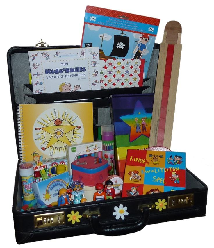 Bloesem Kindercoaching; Mijn koffer dat ik meeneem naar de kinderen thuis