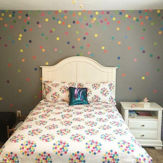 best 25 polka dot wall decals ideas on pinterest - Wall Design Decals