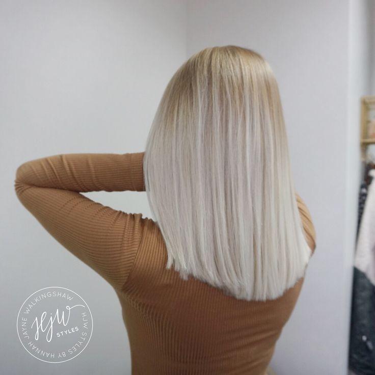Ice blonde hair    @hjwstyles