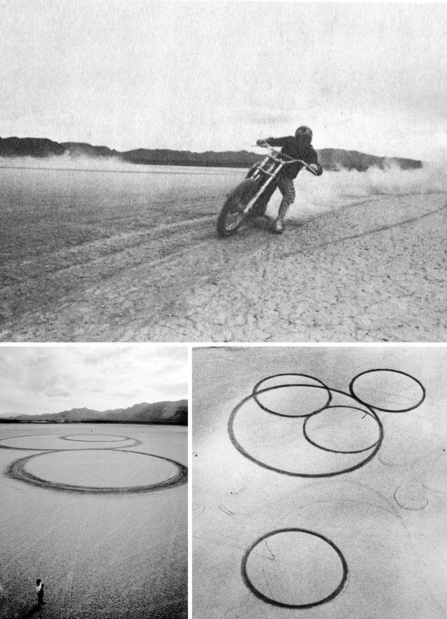 michael heizer circular planar displacement drawing