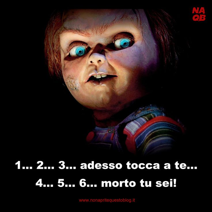 Chucky - La bambola assassina www.nonapritequestoblog.it